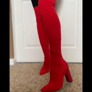 Knee high ZARA boots size 7